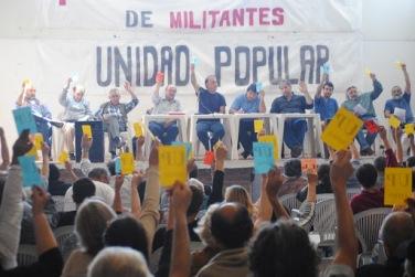 Audio: 1º Encuentro Nacional de Militantes de la Unidad Popular