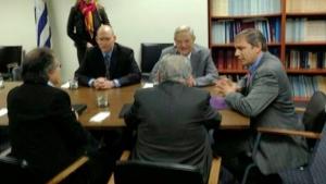 Mujica y Almagro, reunidos en la ONU con el especulador bursátil George Soros