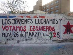 J26; Movimiento 26 de Marzo; Asamlbea popular; Unidad Popular; lista 326
