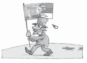 Negocios - Caricatura de Gervasio Umpiérrez