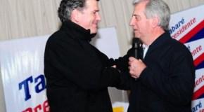 Vázquez y Bordaberry, un abrazo que dice mucho