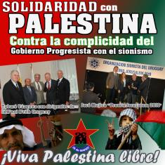 Palestina; solidaridad; gobierno cómplice; genocidio