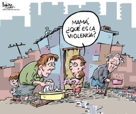 Interrogante. Caricatura de Gervasio Umpiérrez