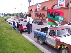 La Unidad Popular moviliza la militancia en todo el país