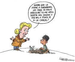 Caricatura del Gervasio Umpiérrez