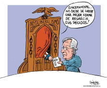 Arrepentido - Caricatura de Gervasio Umpiérrez