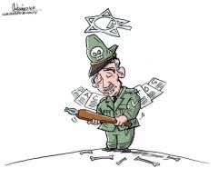 Amigos, son los amigos. Caricatura de Gervasio Umpiérrez