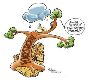 Insufiencia. Caricatura de Gervasio Umpiérrez