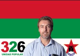 carlos perez; movimiento 26 de marzo; unidad popular; maldonado