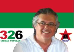Darío Camilo, dirigente departamental del 26M