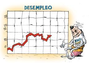 desempleo; uruguay; ine