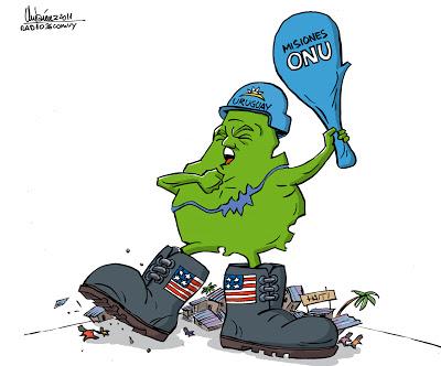 haití; uruguay; frente amplio; cascos azules; onu