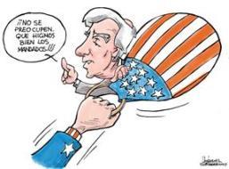 Mandado. Caricatura de Gervasio Umpiérrez.