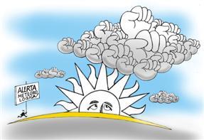 tormenta; nubarrones; crisis; presupuesto; recortes; política económica