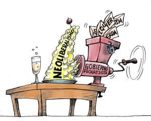 neoliberalismo; progesismo; frente amplio; presupuesto; salario