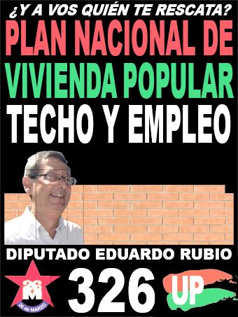 AFICHE VIVIENDA RUBIO.indd